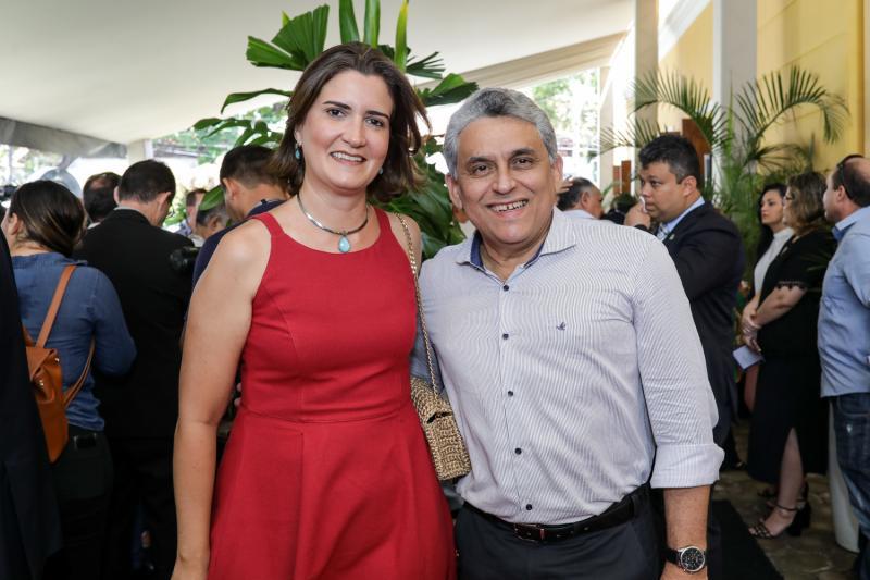 Manoela Nogueira e Jurandir Gurgel