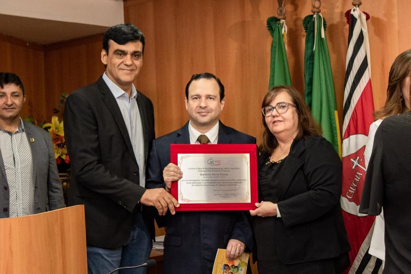 Naumi Amorim, Igor Queiroz Barroso e Germana Sales