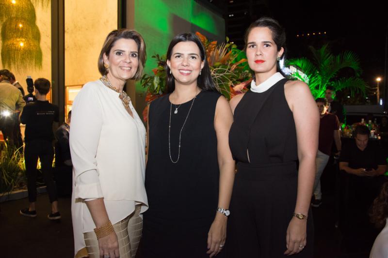 Juliana Melo, Priscila Fontenele e Gisele Oliveira