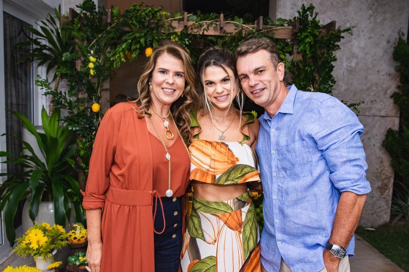 Alexandra Pinto, Mariana Pinto e Fred Pinto