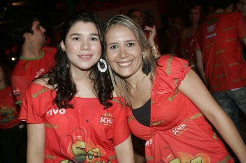 Lia Meneses e Alessandra Jepersen
