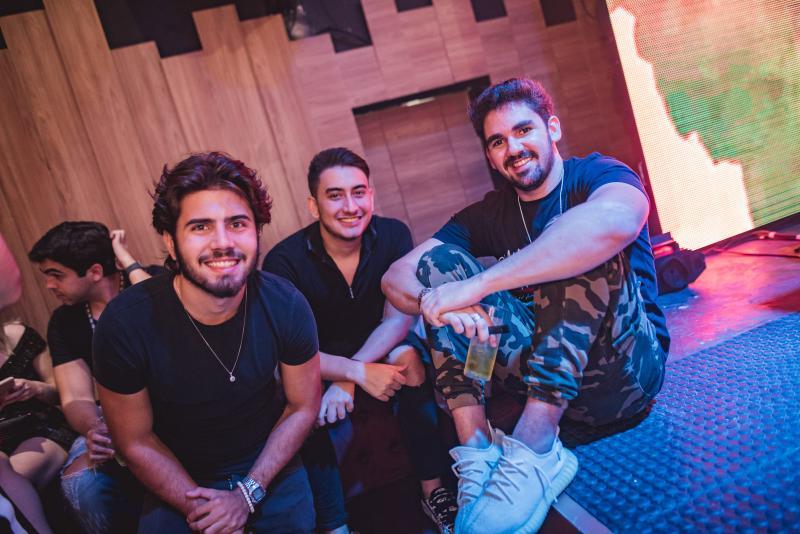 Artur Colares, Kairo Chaves e Lucas Nogueira