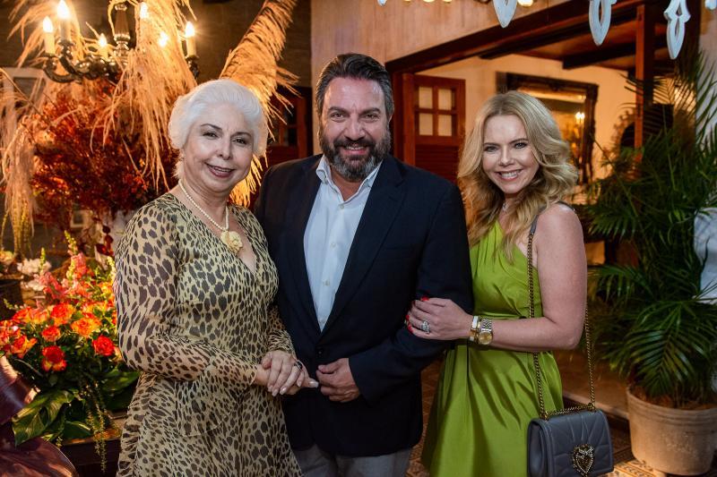 Alodia Guimaraes, Mario Sergio Garcia e Branca Mourao