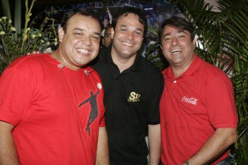 Lelo, Enio Carlos e Jose Walter Manarino