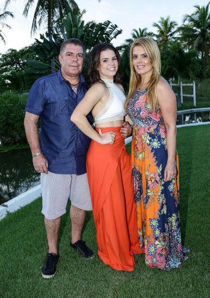 Ricardo, Leticinha e Leticia Studart