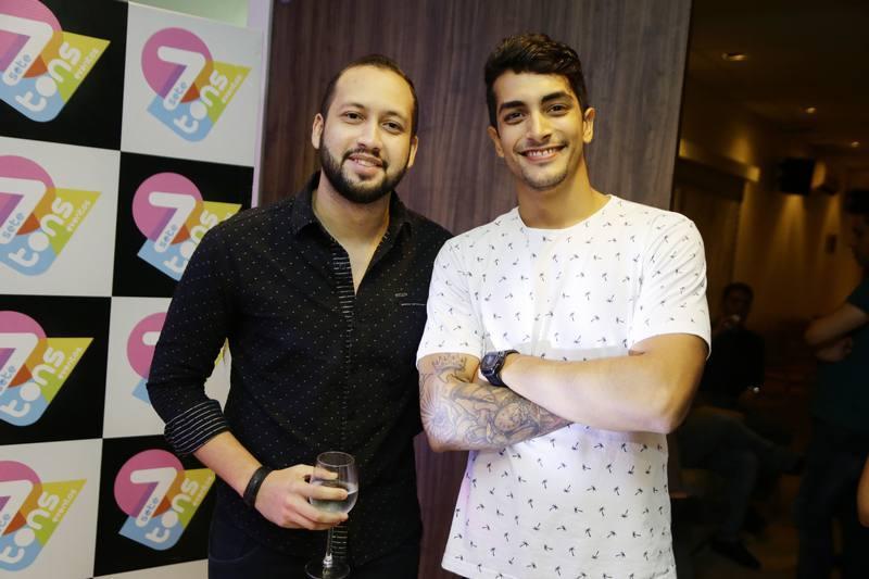 Bruno Hedy e Juan Candido