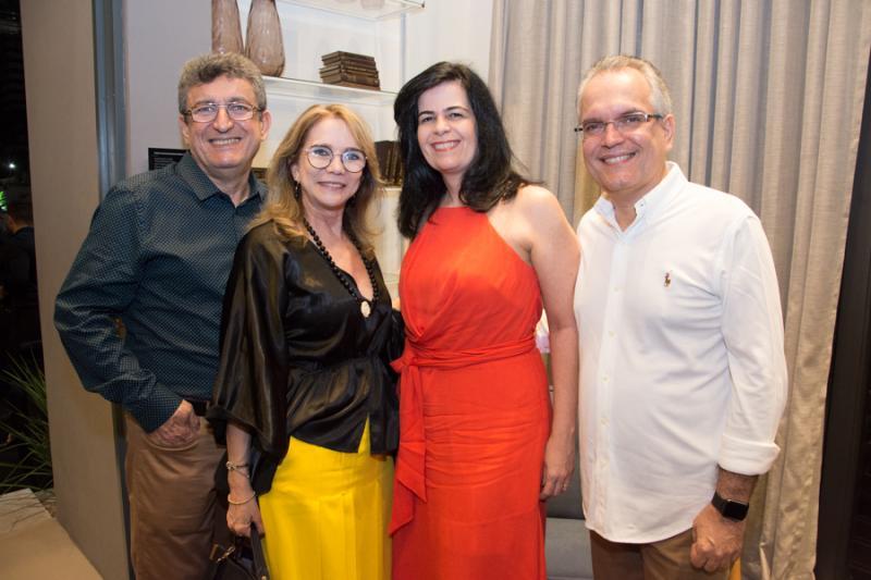 Jorge Lotif, Sofia Linhares, Ines Sobreira e Ricardo Braga
