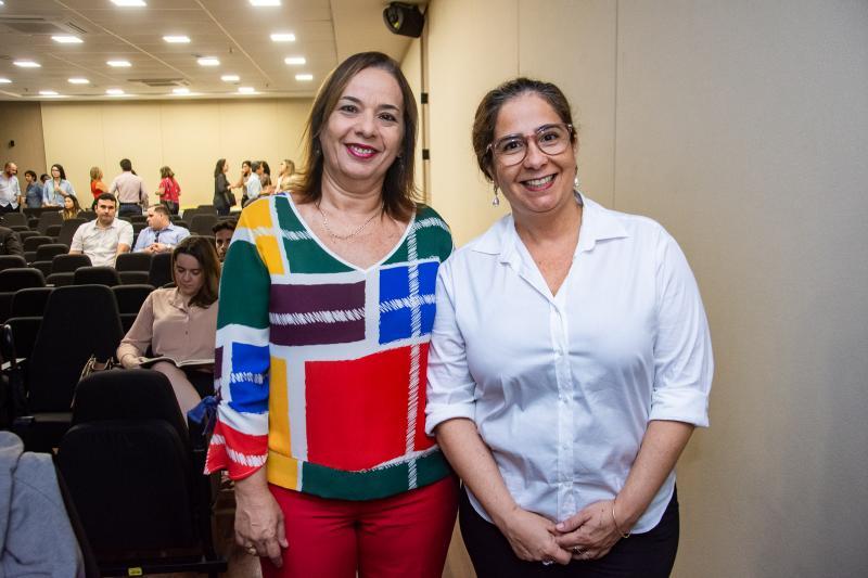 Melina Barbosa e Ana Maria Xavier