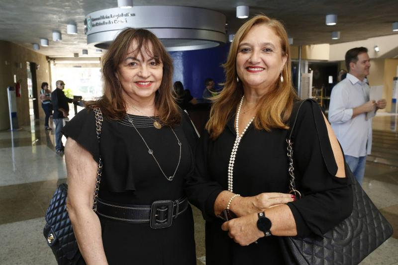 Carmen Cinira e Julia Pessoa