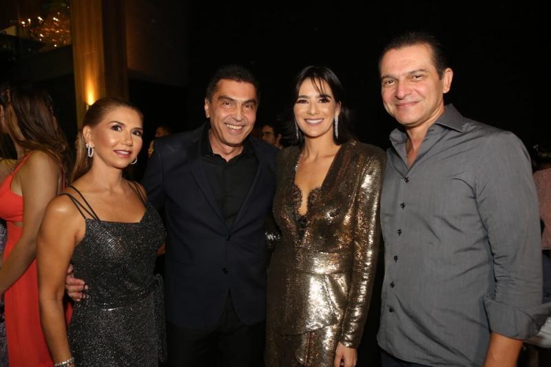 Weyne Moreira, Idezio, Maryana Rolim e Claudio Moreira