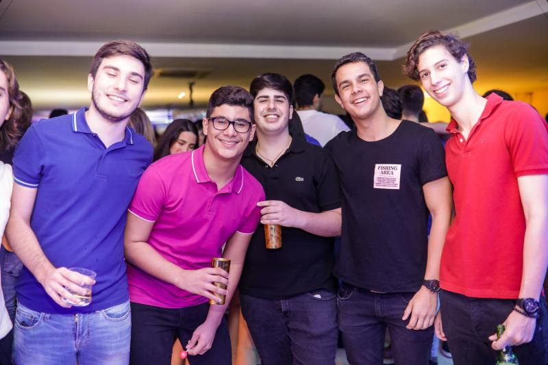 Davi Moura, Mario Neto, Rafael Otoch, Samuel Nascimento e Levi Batista