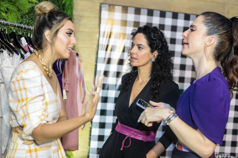 Nathalia Ximenes, Luciana Fiuza e Marcela Porto