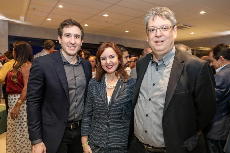 Luis Fernando Bittencurt, Nicole Barbosa e Celio Melo
