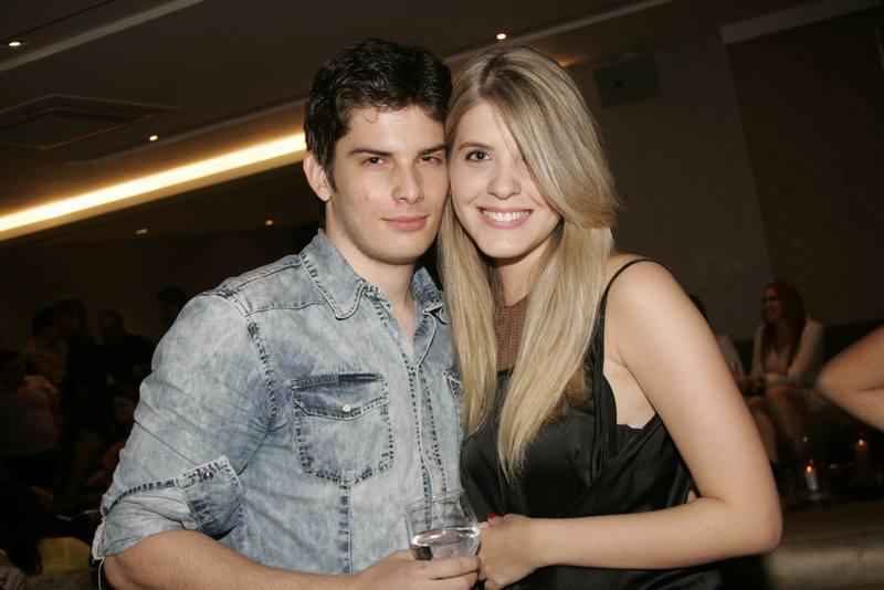 Marcelo Freire e Andressa Sampaio