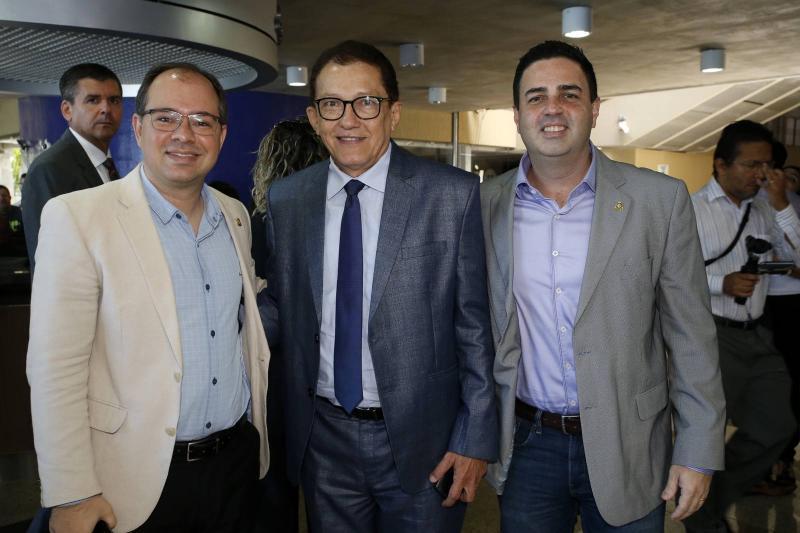 Renato Borges, Elpidio Nogueira e Rodrigo Kawazaki