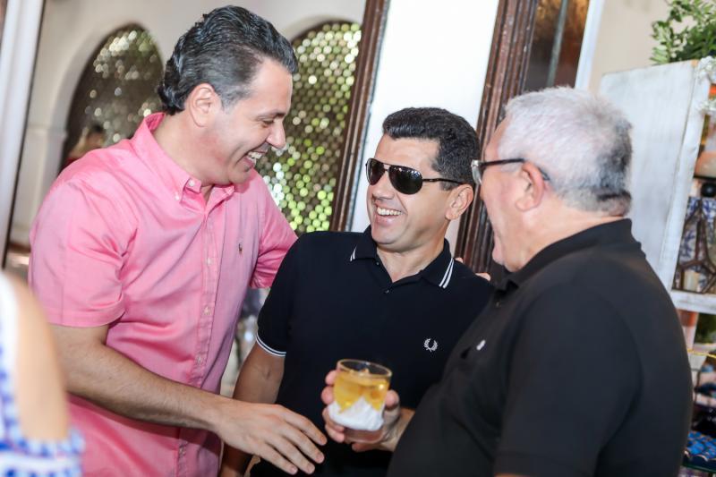 Leo Dallolio, Erick Vasconcelos e Alcimor Rocha