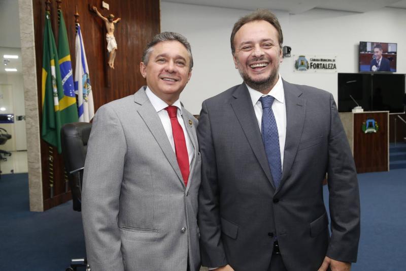 Dr Porto e Adriano Nogueira