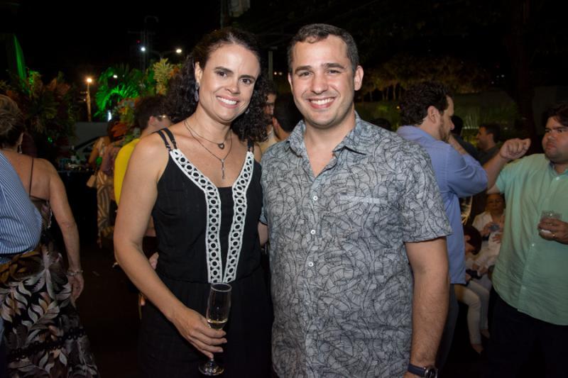 Eveline Sampaio e Daniel Holanda