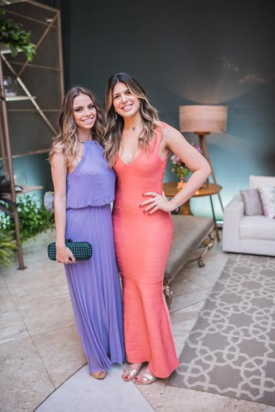 Nicole Marinho e Ana Carolina Goyanna