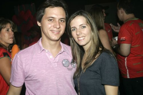 Marcio Galiza e Flavia Machado