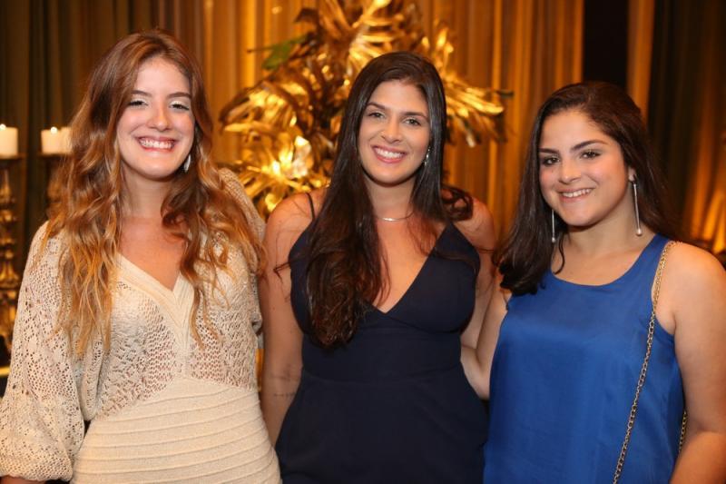 Raquel Tomas, Bianca Baquit e Luisa Feranandes