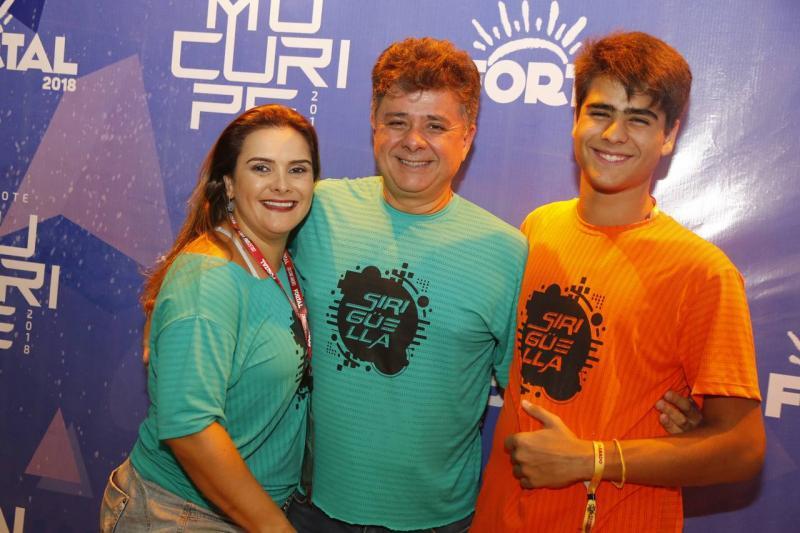 Ira, Alexandre e Bruno Frota