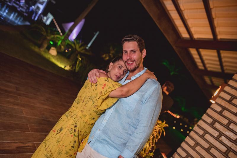Regina Dias Branco  e Gabriel Dias Branco