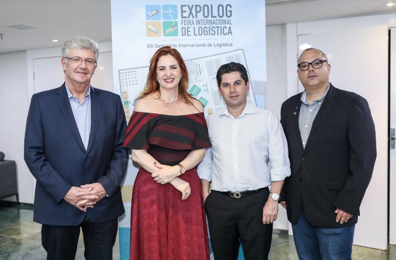 Carlos Maia, Enid Camara, Pompeu Vasconcelos e Carlos Alberto Nunes