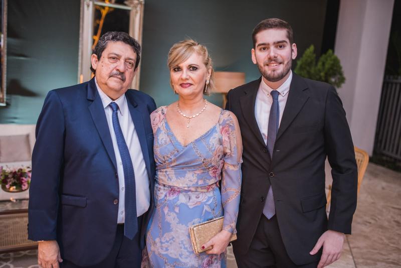 Aluisio Neves, Silvana Belchior e Matheus Belchior