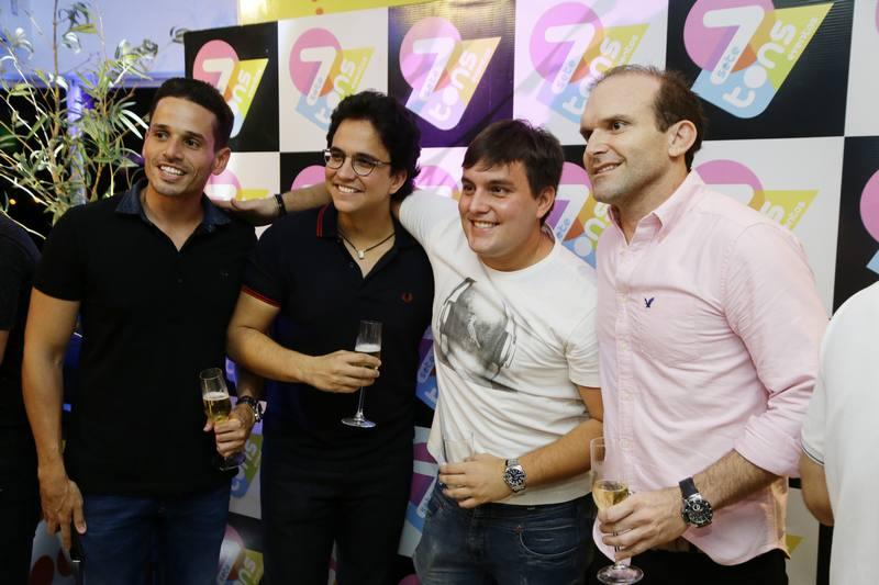 Rafael Sa, Panta Neto, Wembley e Milson e Liberato Junior