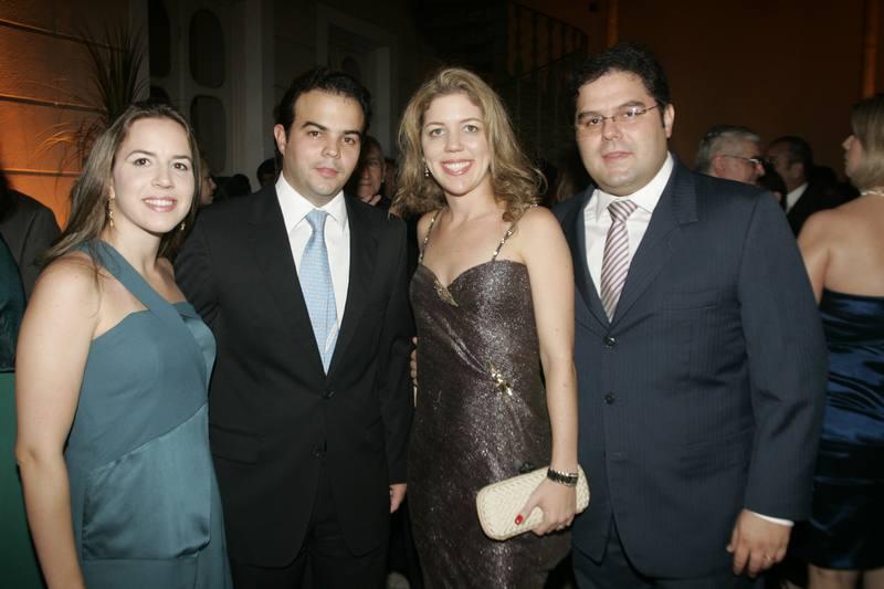 Isabella e Drauzio Barros, Ticiana e Edson Queiroz Neto