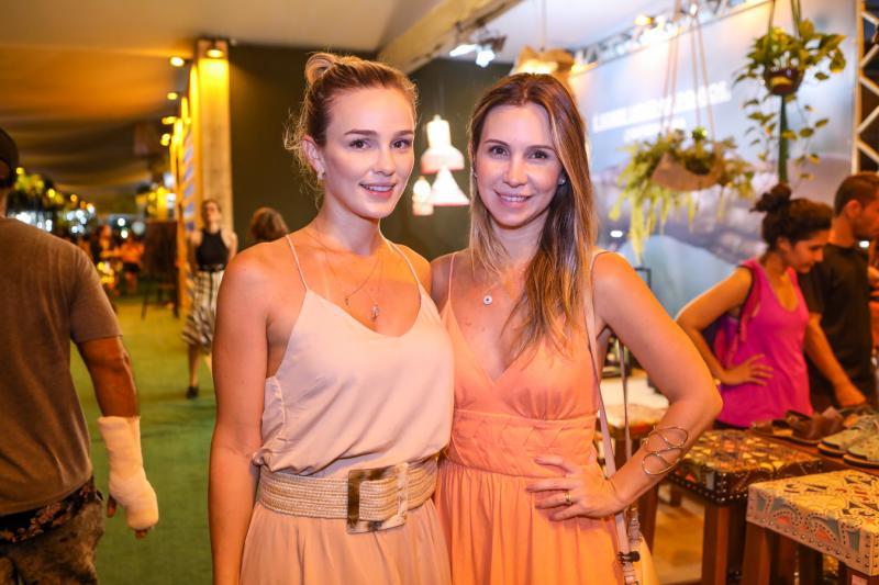 Tarcia Ferreira e Paula Ferreira
