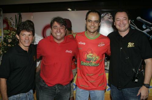 Carvalho Jr., Walter Mannarino, Luiz Lotito e Pedro Neto