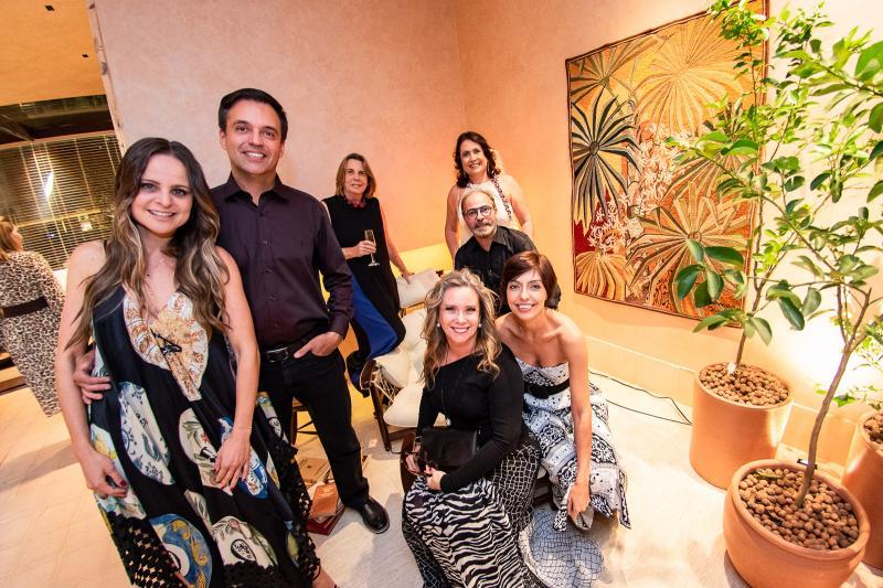 Ana Virginia Furlani, Fernando Novais, Vania Franck, Beatriz Perlingeiro e Marcus Novais