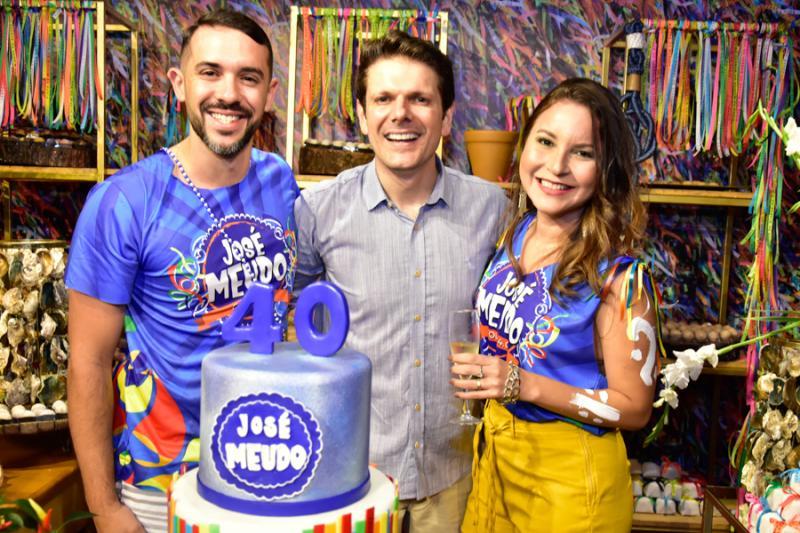 Roberto Filho, Jose Meudo e Raquel Fontenele