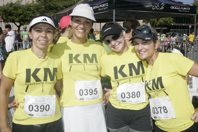 Kimberly Garcia, Simone Ximenes, Ieda Silva e Ana Flavia