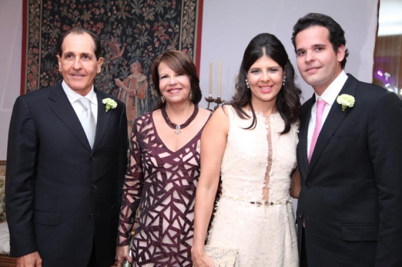 Joao e Ana Fiuza, Juliana e Joao Filho