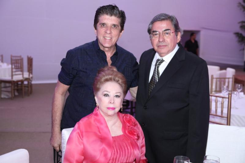 Dito Machado, Iris Dalva e Ernano Furtado