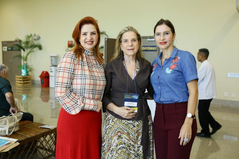 Enid Camara, Anee Ribeiro e Edna Camara