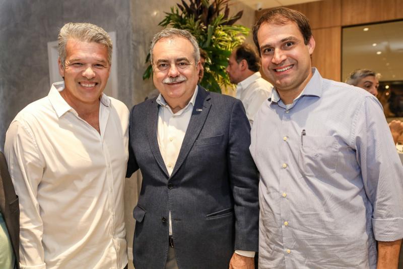 Ferruccio Feitosa, Assis Cavalcante e Salmito Filho