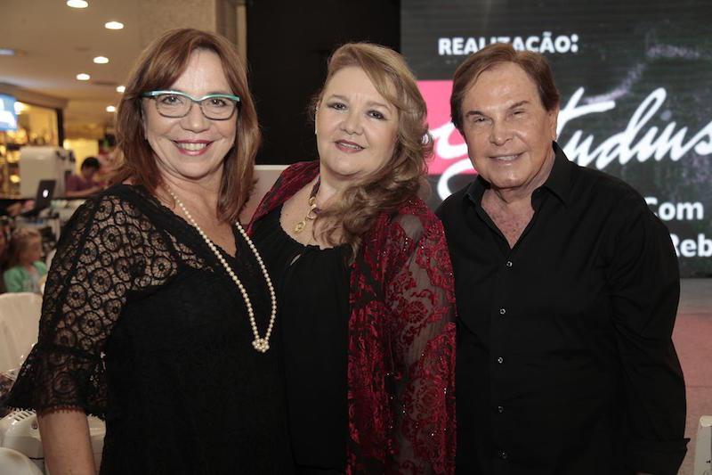 Lucia Wolff, Cristina Reboucas e Lazaro Medeiros