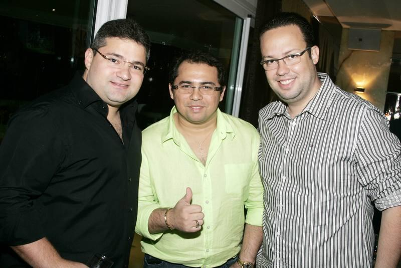 Mario Queiros, Xande Avioes e Daniel Joca
