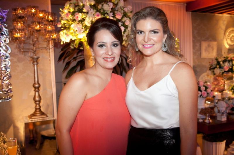 Bruna Soares e Larissa Melo