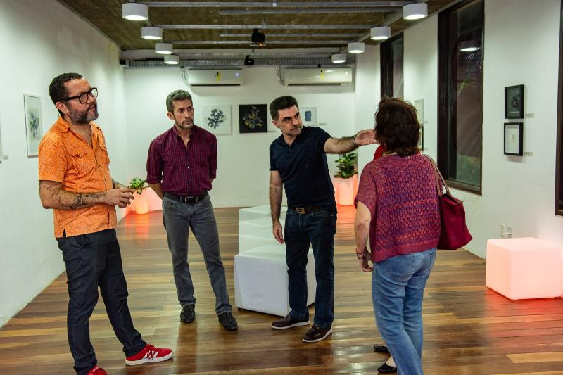 Lenildo Gomes, Pedro Boaventura, Isaac Furtado e Silvia Cavalcante
