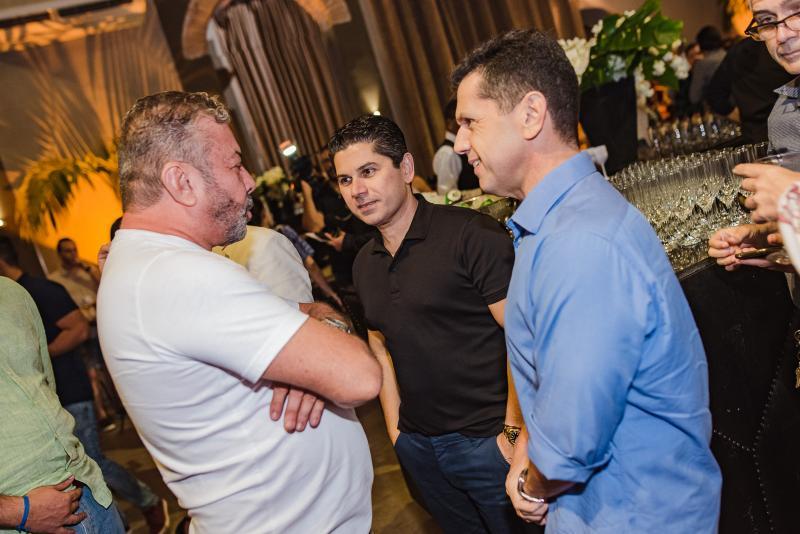 Claudio Silveira, Pompeu Vasconcelos e Erick Vasconcelos