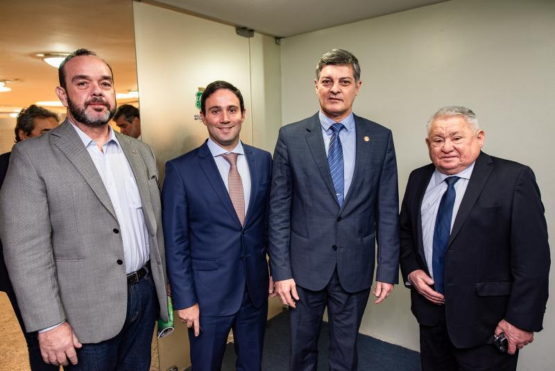 Valdri Chavier, Tiago Asfor, Cid Marconi  Aroudo Maximo