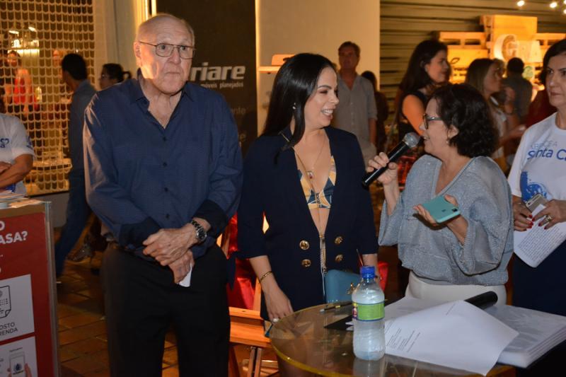 Luiz Marques, Roberta Philomeno e Neuma Figueiredo