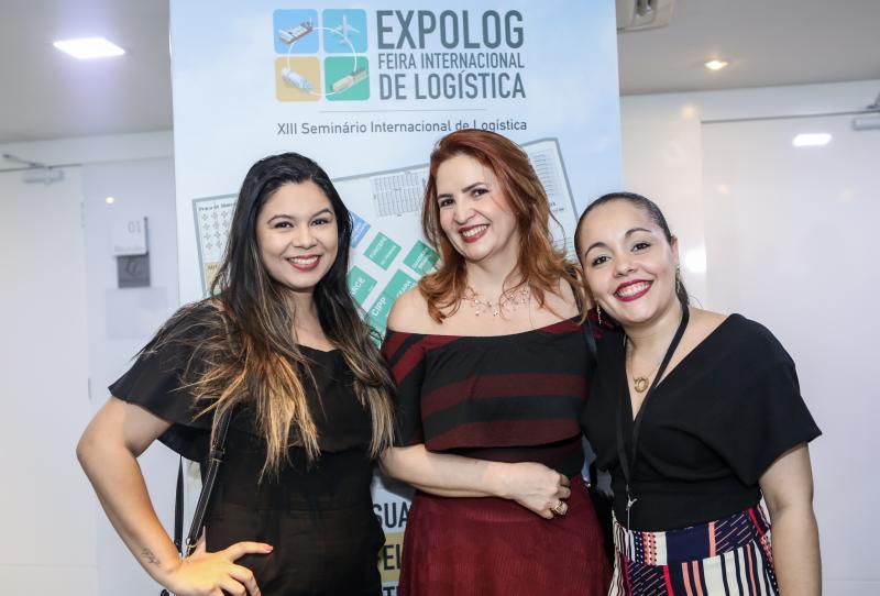 Luiza Dantas, Enid Camara e Carol Macedo