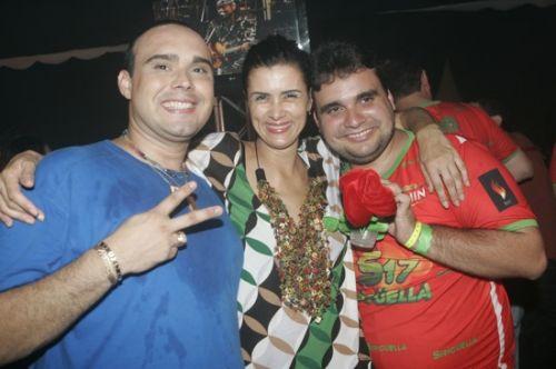 Julio Macedo, Marcia D Julio e Joao Meneleu