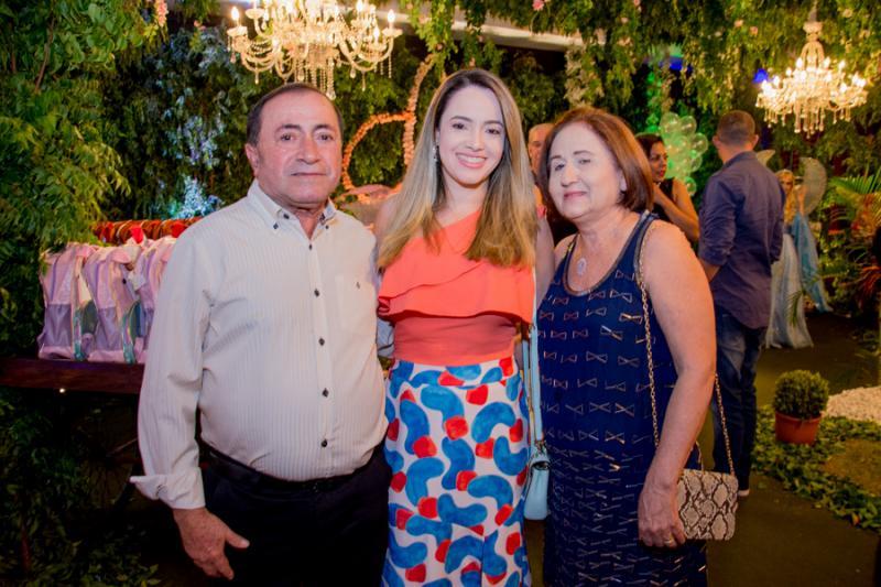 Jose, Cintia e Liduina Maia